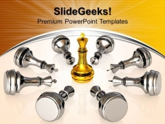Chess Moves Success PowerPoint Templates And PowerPoint Themes 0912