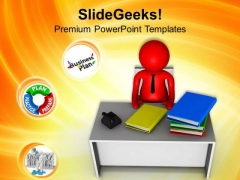 Chief Manager Planning Business Concept PowerPoint Templates Ppt Backgrounds For Slides 0613