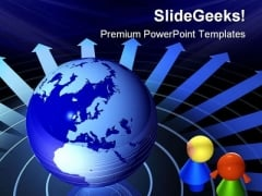Children And Earth Global PowerPoint Themes And PowerPoint Slides 0811