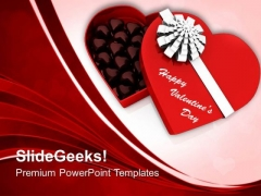 Chocolates Box Valentines Day PowerPoint Templates Ppt Backgrounds For Slides 0213