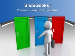 Choice Out Of Three Business Opportunties PowerPoint Templates Ppt Backgrounds For Slides 0513