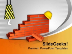 Choose Good Material For Construction PowerPoint Templates Ppt Backgrounds For Slides 0613