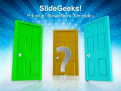 Choose Right Opportunity In Business PowerPoint Templates Ppt Backgrounds For Slides 0513