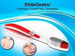 Choose The Best Toothbrush PowerPoint Templates Ppt Backgrounds For Slides 0513