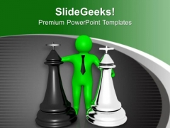 Choose The Right Competitor PowerPoint Templates Ppt Backgrounds For Slides 0713