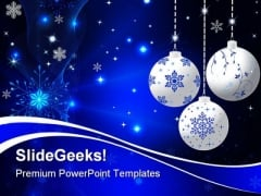 Christmas01 Festival PowerPoint Template 1010