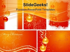 Christmas Abstract Background PowerPoint Templates And PowerPoint Backgrounds 0811