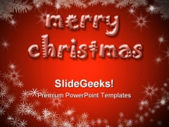 Christmas Background Abstract PowerPoint Templates And PowerPoint Backgrounds 0311