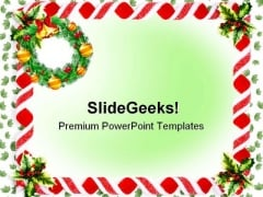 Christmas Background Festival PowerPoint Templates And PowerPoint Backgrounds 0611