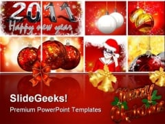 Christmas Background PowerPoint Templates And PowerPoint Backgrounds 0511