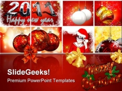 Christmas Background PowerPoint Themes And PowerPoint Slides 0511