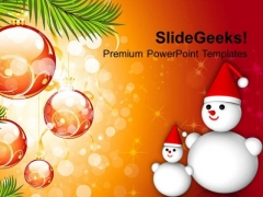 Christmas Celebration Holidays PowerPoint Templates Ppt Backgrounds For Slides 1212