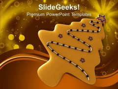 Christmas Cookie Holidays PowerPoint Templates Ppt Backgrounds For Slides 1212