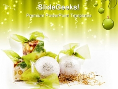 Christmas Decoration Festival PowerPoint Templates And PowerPoint Backgrounds 0711