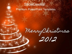 Christmas Decoration Festival PowerPoint Templates And PowerPoint Themes 0212