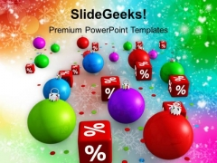 Christmas Discount Festival PowerPoint Templates Ppt Backgrounds For Slides 1112