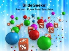 Christmas Discount Sale Shopping PowerPoint Templates Ppt Backgrounds For Slides 1112