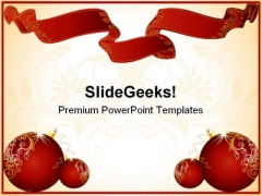 Christmas Frame Festival PowerPoint Templates And PowerPoint Backgrounds 0511