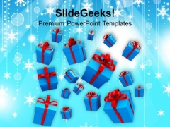 Christmas Gifts Holidays PowerPoint Templates And PowerPoint Themes 1112