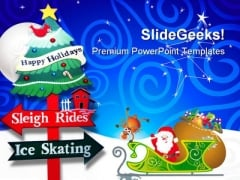 Christmas Holiday PowerPoint Themes And PowerPoint Slides 0211