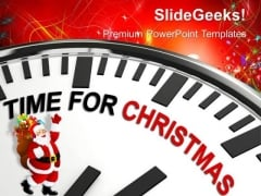 Christmas Party Festival PowerPoint Templates Ppt Backgrounds For Slides 1112