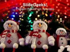 Christmas Santa Celebration Festival PowerPoint Templates Ppt Backgrounds For Slides 1212