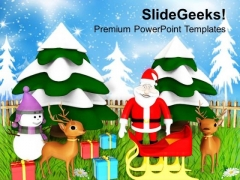 Christmas Theme Holidays PowerPoint Templates Ppt Backgrounds For Slides 1212