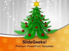 Christmas Tree Decorations PowerPoint Templates Ppt Backgrounds For Slides 1112
