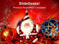 Christmas Tree Festival PowerPoint Themes And PowerPoint Slides 0511