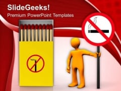 Cigarette Smoking Injurious To Health PowerPoint Templates Ppt Backgrounds For Slides 0313