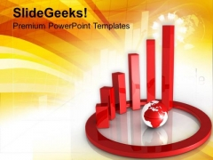 Circular Graph Global Business PowerPoint Templates Ppt Backgrounds For Slides 0313