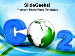 Co2 Atmospheric Pollution Environment PowerPoint Templates And PowerPoint Themes 0812