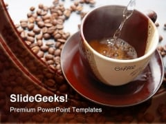 Coffee And Beans Health PowerPoint Templates And PowerPoint Backgrounds 0311