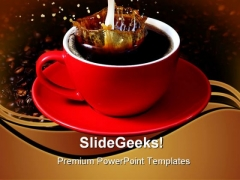Coffee Food PowerPoint Themes And PowerPoint Slides 0511