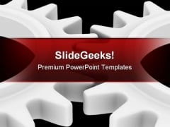 Cogs Industrial PowerPoint Templates And PowerPoint Backgrounds 0711