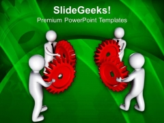 Collect All Right Gears Of Innovation From Team PowerPoint Templates Ppt Backgrounds For Slides 0613