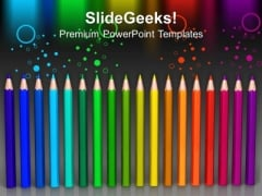 Color Pencils Education Future PowerPoint Templates And PowerPoint Themes 1012