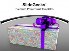 Colorful Gift Box Birthday Celebration PowerPoint Templates Ppt Backgrounds For Slides 0213