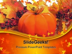 Colors Of Autumn Nature PowerPoint Templates And PowerPoint Backgrounds 0511