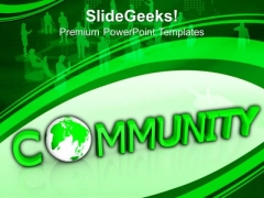 Community World Business PowerPoint Templates And PowerPoint Themes 0912
