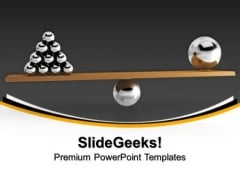 Comparing Balls Business PowerPoint Templates And PowerPoint Themes 1012