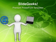 Comparison Between Internet And Laptop PowerPoint Templates Ppt Backgrounds For Slides 0513