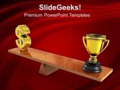 Comparison Between Sports And Business Success PowerPoint Templates Ppt Backgrounds For Slides 0313