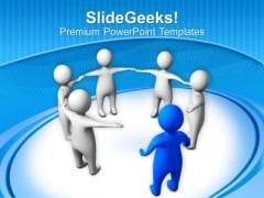 Complete The Team With Your Presence PowerPoint Templates Ppt Backgrounds For Slides 0613