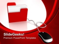 Computer Mouse Business PowerPoint Templates And PowerPoint Themes 0712