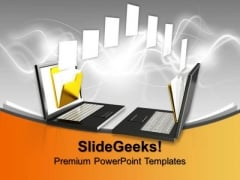 Computer Networking Concept Technology PowerPoint Templates And PowerPoint Themes 0912