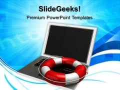 Computer System Security PowerPoint Templates And PowerPoint Themes 1012