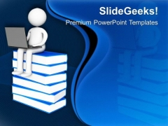 Concept Of E Learning PowerPoint Templates Ppt Backgrounds For Slides 0413