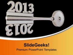 Concept Of Gray Key Mirror Symbol PowerPoint Templates Ppt Backgrounds For Slides 0113