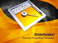 Concept Of Internet Security PowerPoint Templates Ppt Backgrounds For Slides 0713
